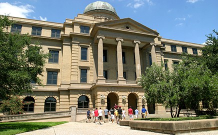 Image of the Academic Building at Texas A&M University